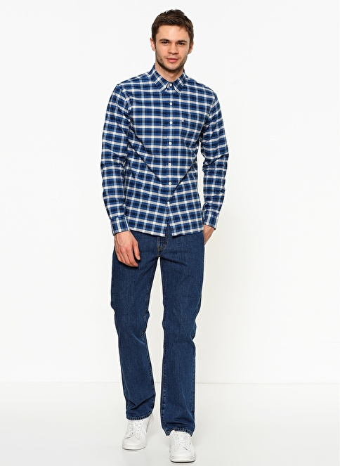 Levi's® Jean Pantolon | 514 - Regular Straight Lacivert
